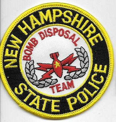 New Hampsire State Police Bomb Eod Disposal Team Nhsp Local