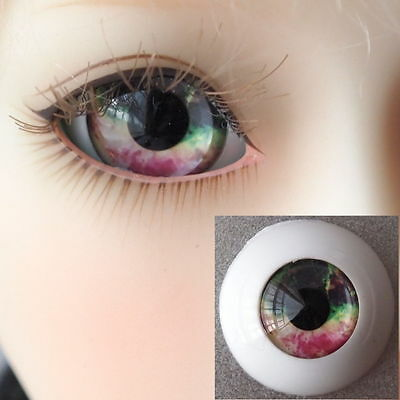 #HMA2 - Acrylic Eyes for BJD Doll 12 14 16mm 18 20 22 SD13/10 Dollfie Green