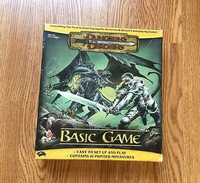 2004 Dungeons & Dragons Basic Game Boxed Set Incomplete