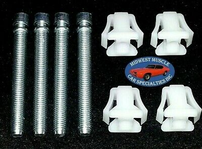 60-90 GM Headlight Head Light Lamp Adjuster Adjusting Screw Bolt & Nut 4pcs B