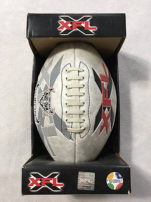XFL San Francisco Demons Full Size Football Collectable 2001 Extreme League