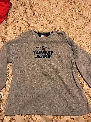 Vintage 90s Tommy Hilfiger Bootleg Tommy Jeans Spellout Sweatshirt