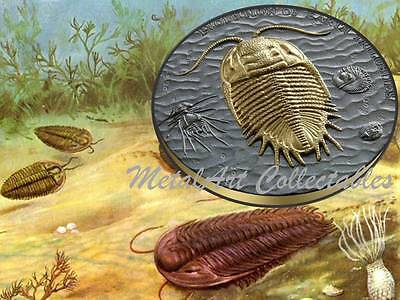 2016 Niue TRILOBITES EVOLUTION OF EARTH 2 oz High Relief Silver Proof IN STOCK
