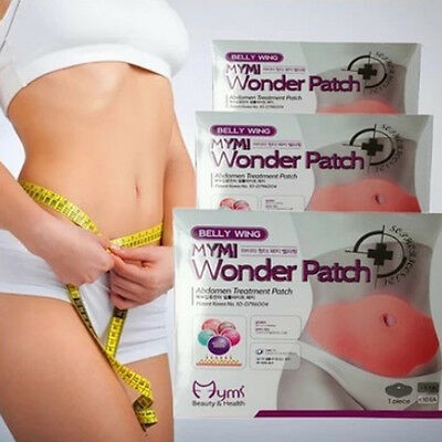 5pcs MYMI Wonder Patch Belly Wing Abdomen Treatment Weight Loss Korean Fat Burn