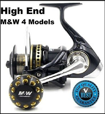 Spinning Reels Game Fishing Reel M&W Pandora 11 15-20kg Drag A1 RRP $350 Save!