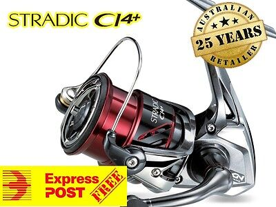 Shimano Stradic CI4+ 3000FB 3000HG New Fishing Reel 2017 MODEL