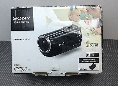 Sony Handycam HDR-CX380 1080p HD Flash Memory Camcorder