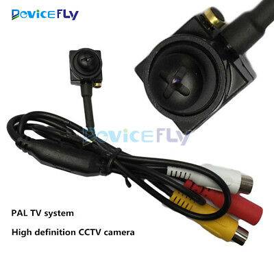 800TVL CMOS PAL CCTV Wired Covert Screw Pinhole Camera Home Security Spy Cam