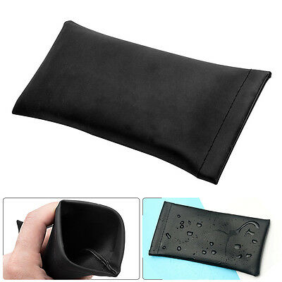 Leather Mouth Snapped Sunglass Eyeglass Reading Glasses Case Soft Pouch Bag s AU