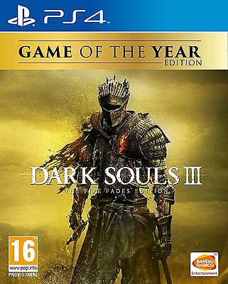Dark Souls 3 The Fire Fades GOTY (PS4) BRAND NEW SEALED PLAYSTATION 4
