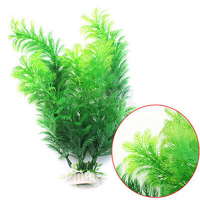 30cm Underwater Artificial Plant Grass for Aquarium Fish Tank Landscape Decor UK