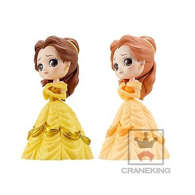 Q posket Disney Belle Figure Beauty and the Beast set of 2 Characters JAPAN NEW