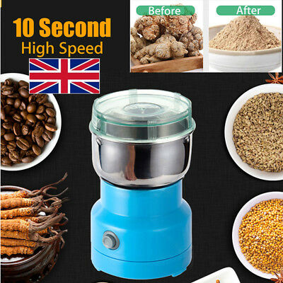 220V Electric Herbs/Spices/Nuts/Grains/Coffee Bean Grinder Mill Grinding Home