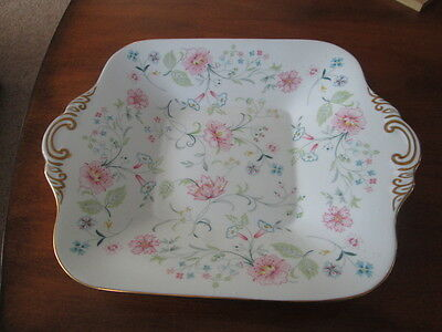 "Spode   Springdale  2 Handled Serving Plate 10.5"" Wide  Y8506 - J"