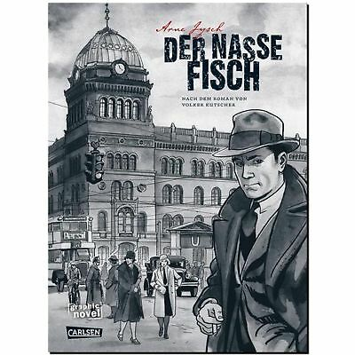 Der nasse Fisch  Gereon Raths Fälle GRAPHIC NOVEL Kriminal COMIC NOIR 20er HC