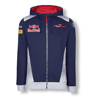 Scuderia Toro Rosso F1 Official Men's Teamline Zip Hoody - 2017