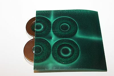 Magnetic Field Viewer Film 203 mm x 152 mm (8in x 6in) Genuine USA 'Green film'