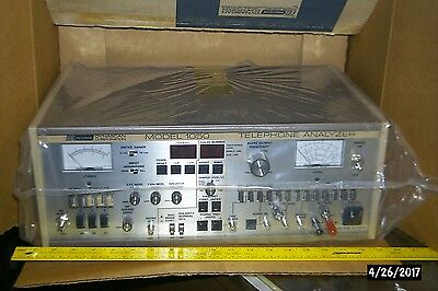 TELEPHONE ANALYZER-BK PRECISION - MODEL 1050 NEW in BOX
