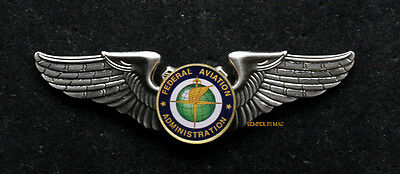 Federal Aviation Administration Faa Wing Pilot Pin Up Gift Retirement Promotion
