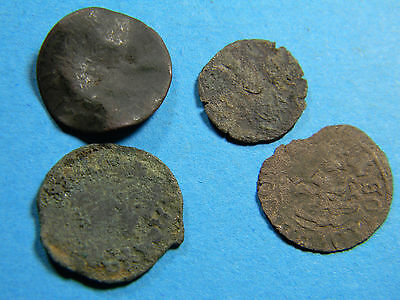 4 Medieval European Coins Lot M - 10