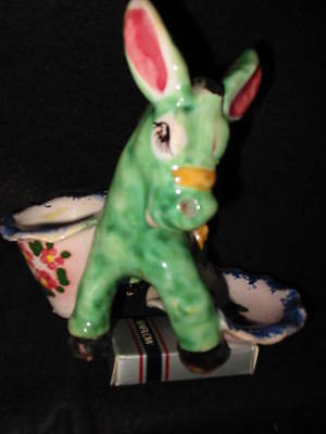 Ceramic Statue Of A Donkey - Made In Italy - Vintage - 1965 -  Sale!