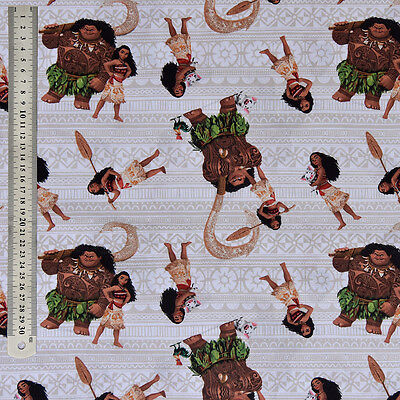 Disney Pixar Moana Fabric - 100% Cotton