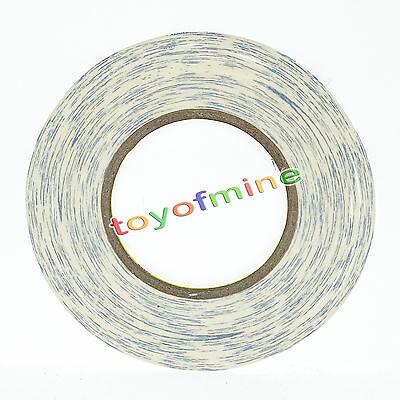 2mmx50m White 3M Double Sided Sticky Adhesive Tape for Cell Phone LCD Screen