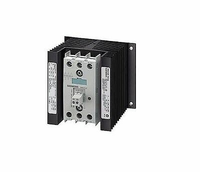 SIEMENS SEMI CONDUCTOR Solid-state contactor, 3-phase, 3RF2430-1AC55