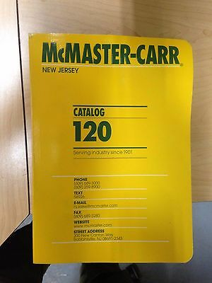McMaster Carr Catalog 120, New Jersey