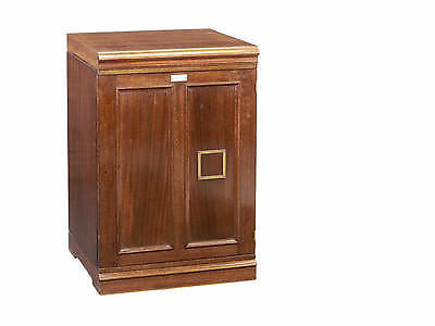 Mahogany butterfly insect cabinet ex Rothschild Collection 10 drawers