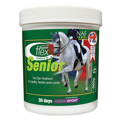 NAF - Superflex Senior 660g Joint supplement for horses & ponies - Fast Delivery
