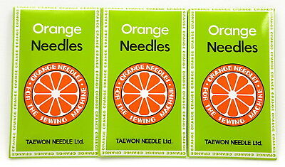 CONSEW 206RB WALKING FOOT NEEDLES #23 100 EACH