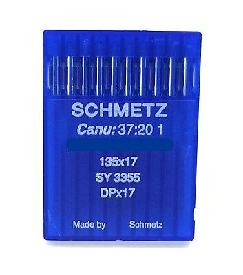 10 Schmetz  135X17 Size#18 / 110 Industrial Sewing Machine Needles Dpx17 Sy3355
