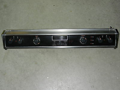 Jenn-Air Complete Black Control Panel Unit With Switch Model S136-C S156-C S166W