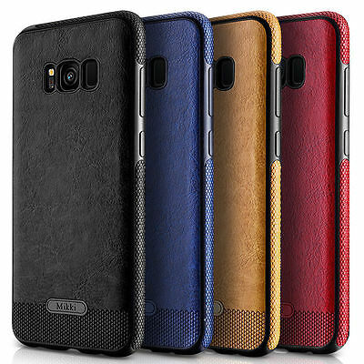 Thin Leather Shock-Absorption Bumper Case For Samsung Galaxy S8/S9 Phone Series