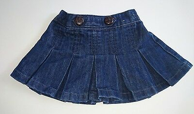 Baby girl Next blue skirt age 3-6 months