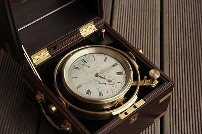 Colection very rare Marine chronometer Edwards & Hunter 440/1840