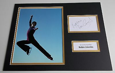 Robin Cousins SIGNED autograph 16x12 photo display Ice Skating Sport AFTAL COA