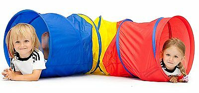 Pacific Play Tents Kids Preschool Toddlers Folding Find Me Multi Color 6 Tunnel