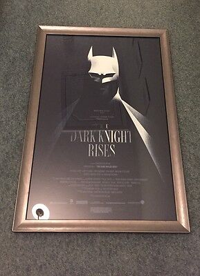The Dark Knight Rises -Rare 2012 Limited Edition Mondo Screen Print By Olly Moss