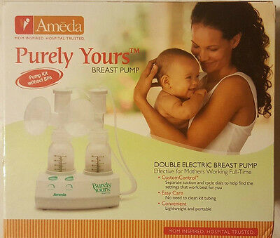 Ameda Purely Yours  Double Electric Breast Pump NEW Factory Sealed free Shipping