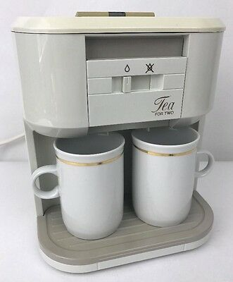 Vintage Philips Tea for Two Retro Teamaker HD 5192 Teasmade