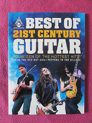 14 partitions BEST OF 21ST CENTURY GUITAR Red Hot Chili Peppers The Killers