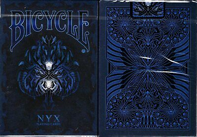 NYX Bicycle Playing Cards Poker Size Deck USPCC Custom Limited Edition Sealed