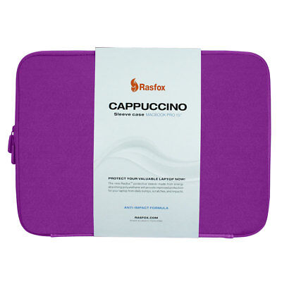 Wholesale Lot of 15, Purple Cappuccino Sleeve Case Bag For 15 Inch MacBook Pro