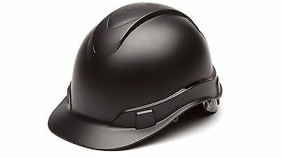 Pyramex HP44117 Graphite Pattern Cap Style 4-Point Standard Ratchet Hard Hat