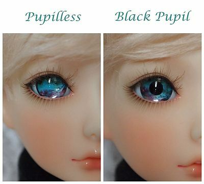 #HMB2 - Acrylic Eyes for BJD Doll 12 14 16mm 18 20 22 SD13/10 Dollfie Green