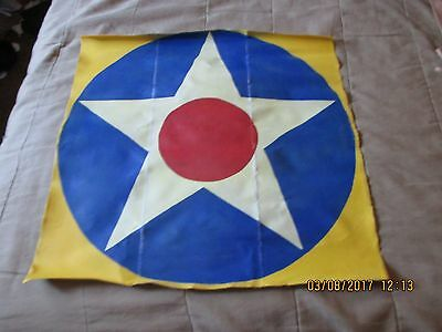 1920's-Wwii Usaas Usaac Usn Usmc American Star With Red Center Aircraft Wall Art