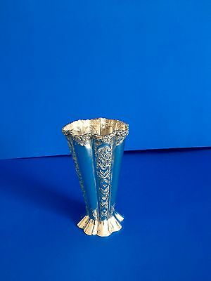 Persian Sterling Silver Vase by Vartan