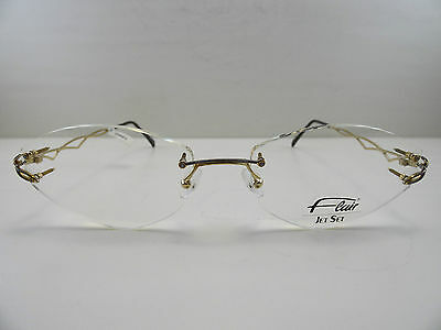 FLAIR - 113 - GERMANY Designer Eyeglasses Brille Goggles Gafas Glasses NEU NEW rVJSd